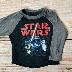Star Wars long sleeve tee size 3